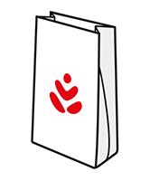 sac papier grand public